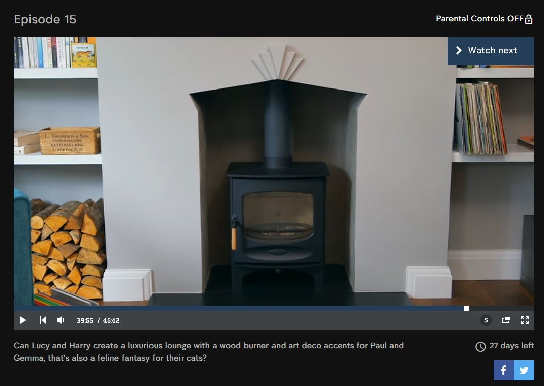 Embers Bristol Charnwood C Five Stove Installation Bang on Budget