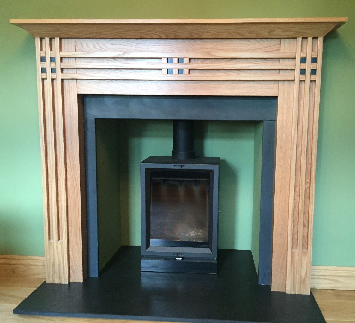 Embers bristol install slate hearths